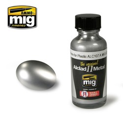 Alclad by Ammo - Chrome For Plastic Alc107 - 30ml - A.MIG-8205