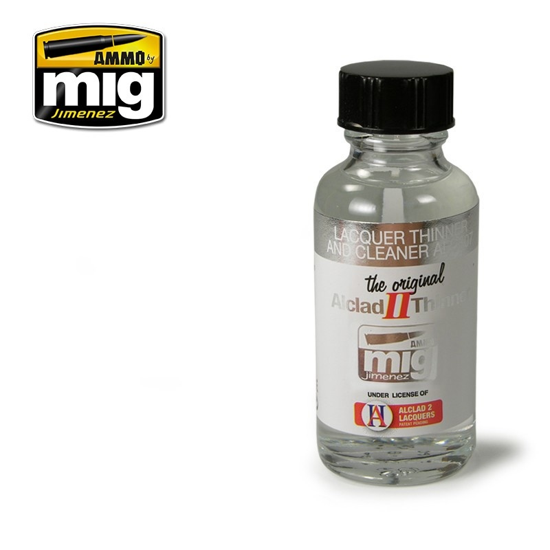 Ammo by Mig Jimenez Alclad by Ammo - Lacquer Thinner And Cleaner Alc307 - 30ml - A.MIG-8200