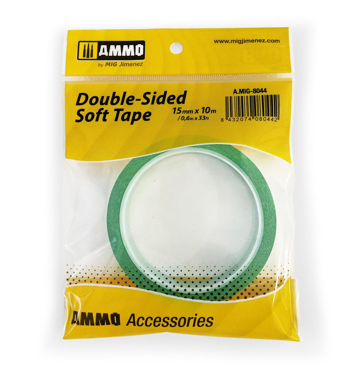Ammo by Mig Jimenez Double-Sided Soft Tape (15mm X 10m) - Ammo by Mig Jimenez - A.MIG-8044