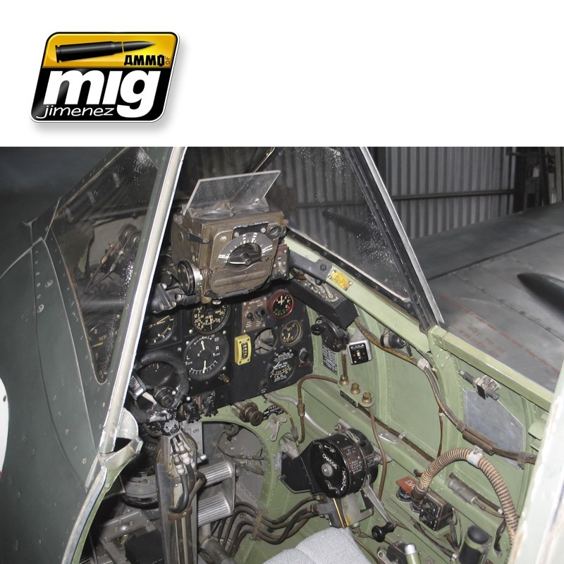 Ammo by Mig Jimenez Airplane Weathering Sets - Ww II British Cockpits - A.MIG-7432