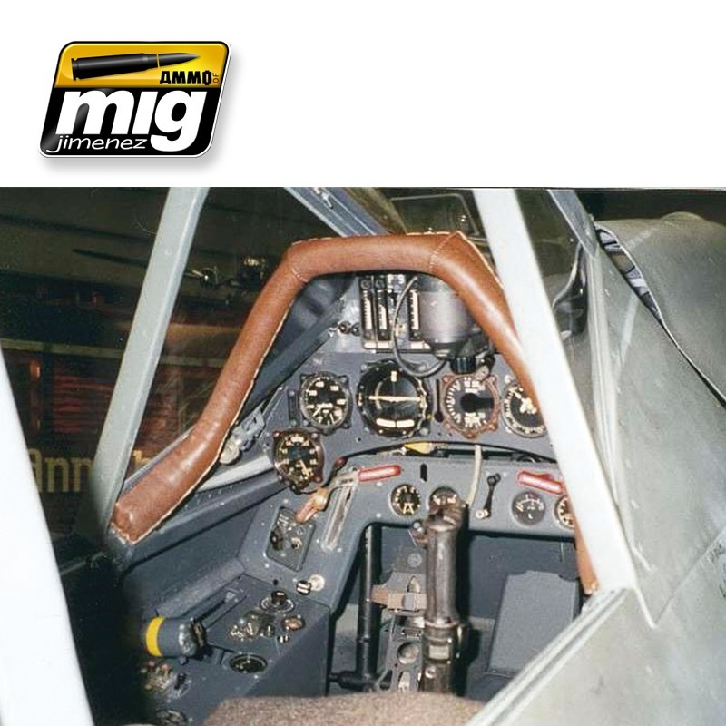 Ammo by Mig Jimenez Airplane Weathering Sets - Late Luftwaffe Cockpits - A.MIG-7431