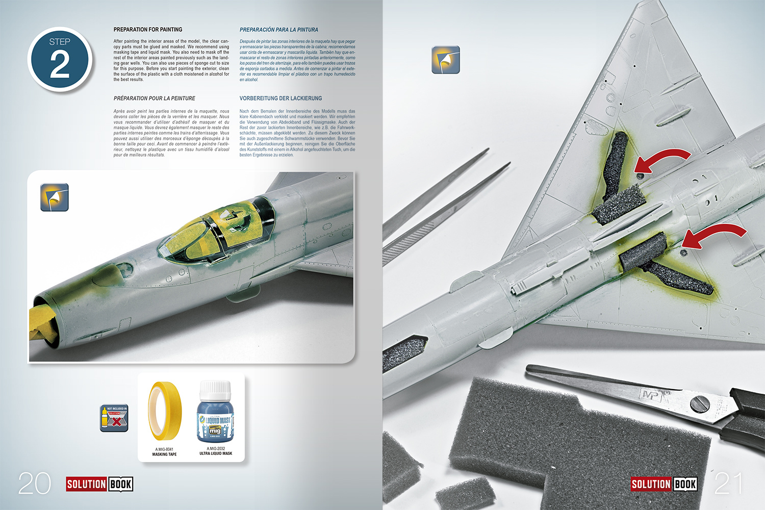 Ammo by Mig Jimenez Solution Book 08 How To Paint Bare Metal Aircraft. Colors And Weathering System - Ammo by Mig Jimenez - A.MIG-6521