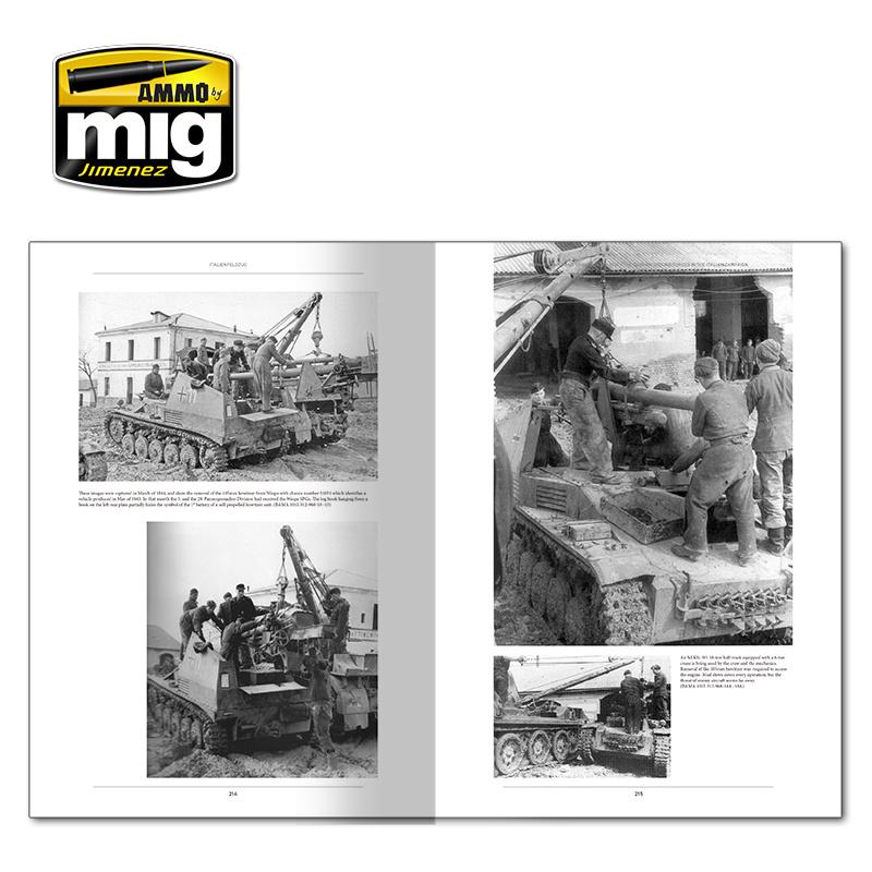 Ammo by Mig Jimenez Italienfeldzug. German Tanks And Vehicles 1943-1945 Vol.1 English - A.MIG-6261