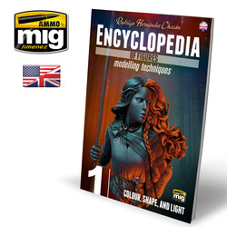 Encyclopedia Of Figures. Modelling Techniques Vol. 1 - Colour, Shape, And Light English