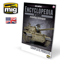 Encyclopedia Of Armour Modelling Techniques Vol. Extra - Complete Process English