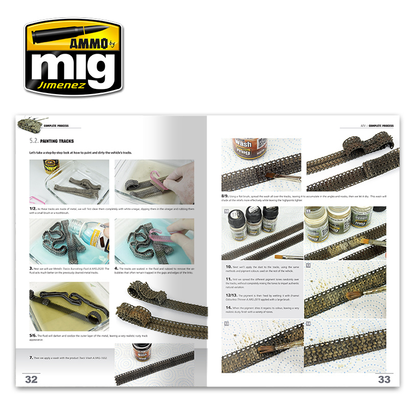 Ammo by Mig Jimenez Encyclopedia Of Armour Modelling Techniques Vol. Extra - Complete Process English - A.MIG-6155