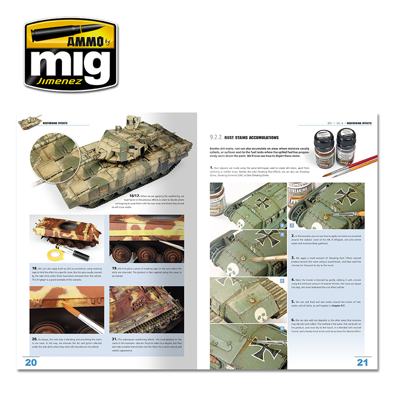 Ammo by Mig Jimenez Encyclopedia Of Armour Modelling Techniques Vol. 4 - Weathering English - A.MIG-6153