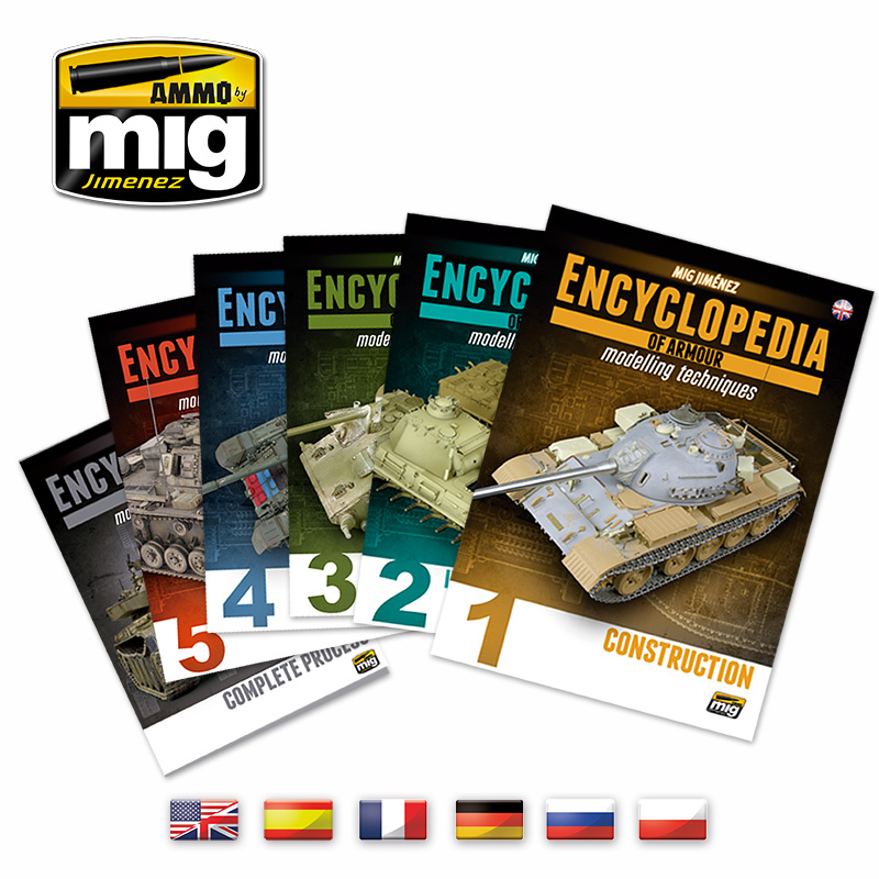 Ammo by Mig Jimenez Complete Encyclopedia Of Armour Modelling Techniques - English - A.MIG-6149
