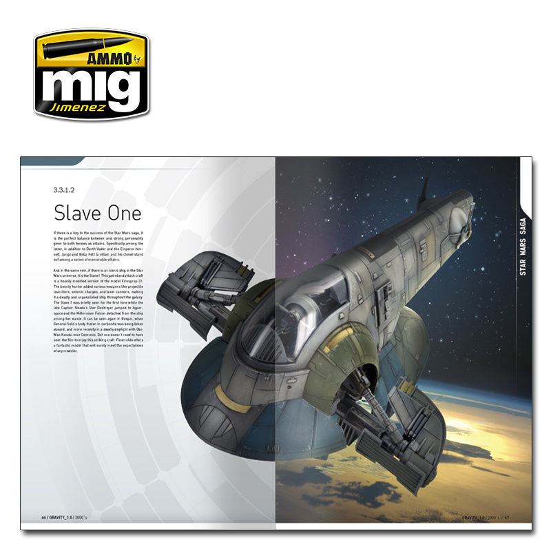 Ammo by Mig Jimenez Gravity 1.0 - Sci Fi Modelling Perfect Guide English - A.MIG-6110