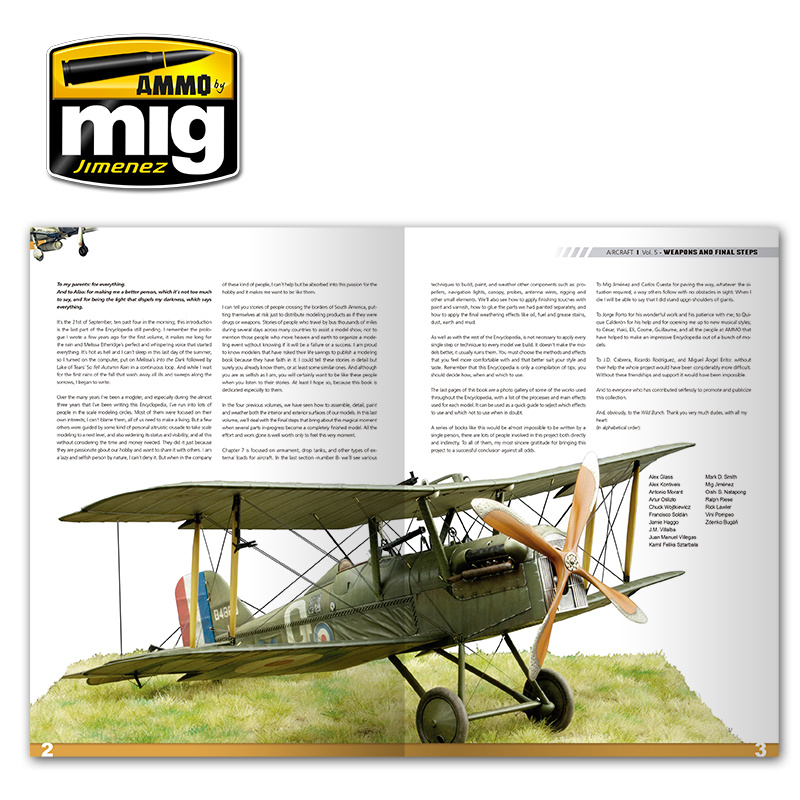 Ammo by Mig Jimenez Encyclopedia Of Aircraft Modelling Techniques - Vol.5 - Final Steps - A.MIG-6054