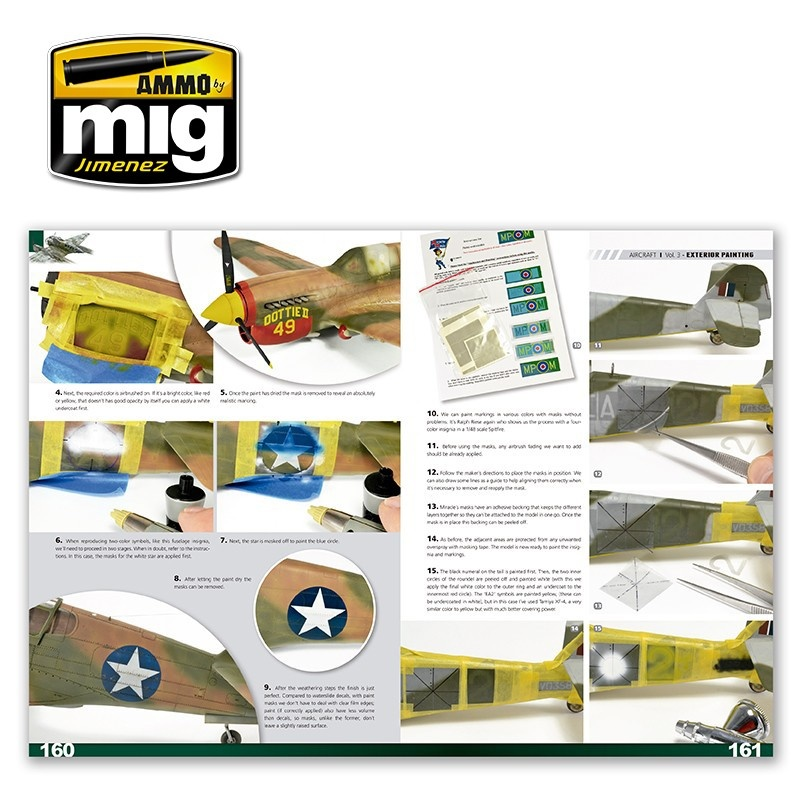 Ammo by Mig Jimenez Encyclopedia Of Aircraft Modelling Techniques - Vol.3 - Painting English - A.MIG-6052
