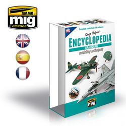 Case For Encyclopedia Of Aircraft Modelling Techniques English - A.MIG-6049E