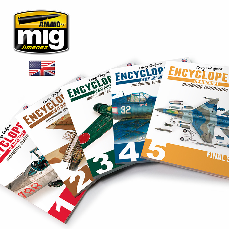 Ammo by Mig Jimenez Complete Encyclopedia Of Aircraft Modelling Techniques English - A.MIG-6049