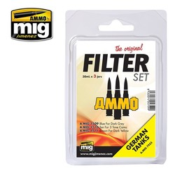Filter Set For German Tanks - A.MIG-7453