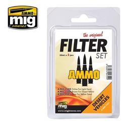 Filter Set For Desert Vehicles  - A.MIG-7451