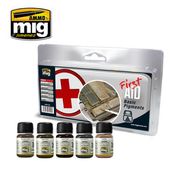 First Aid Basic Pigments - A.MIG-7448