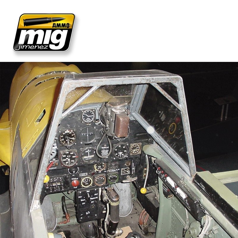 Ammo by Mig Jimenez Airplane Weathering Sets - Early Luftwaffe Cockpits - A.MIG-7430