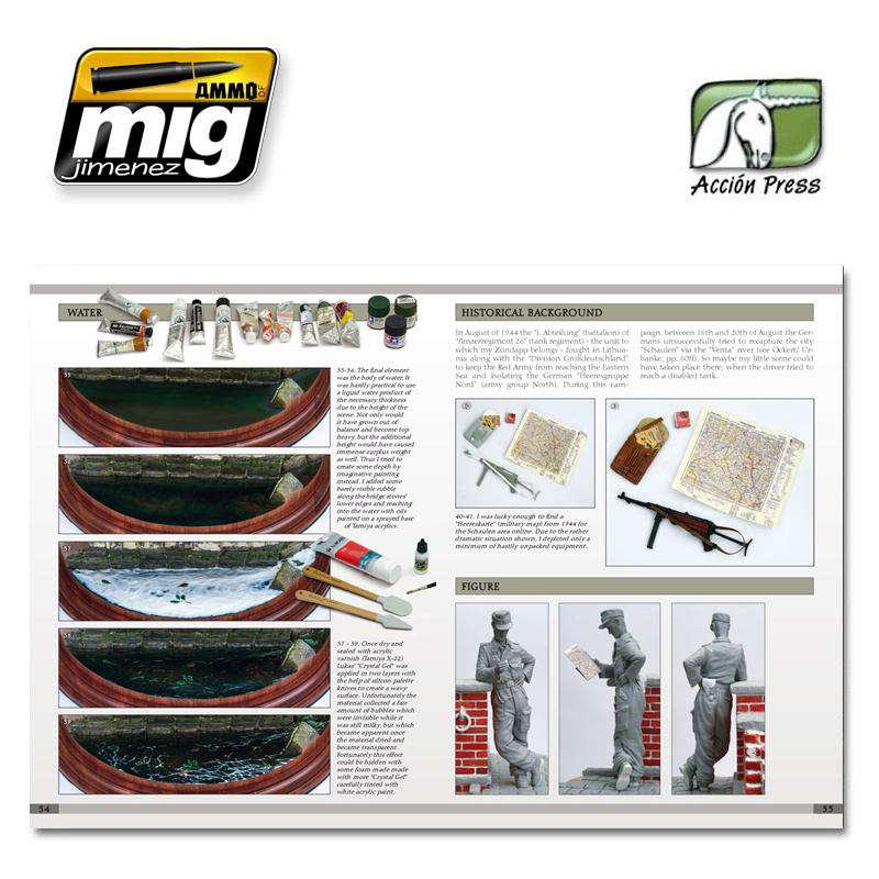 Ammo by Mig Jimenez Landscapes Of War. The Greatest Guide Vol 3: Rural Enviroments English - EURO-0012