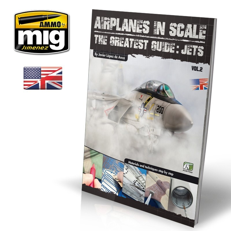 Ammo by Mig Jimenez Airplanes In Scale: The Greatest Guide Jets English - EURO-0010