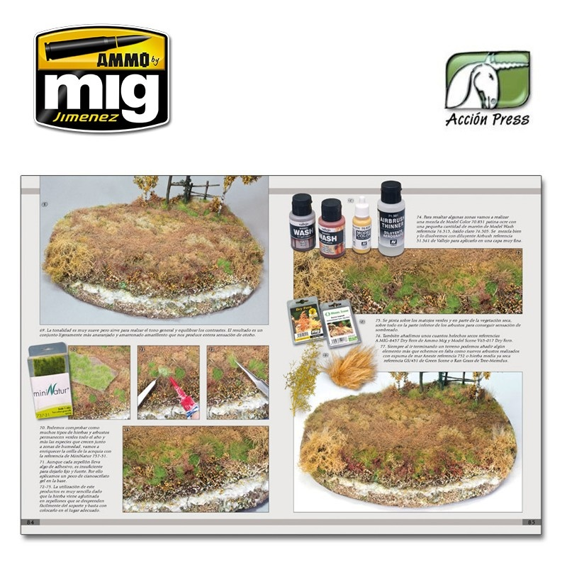 Ammo by Mig Jimenez Landscapes Of War. The Greatest Guide Vol. 2 - Dioramas   English - EURO-0008