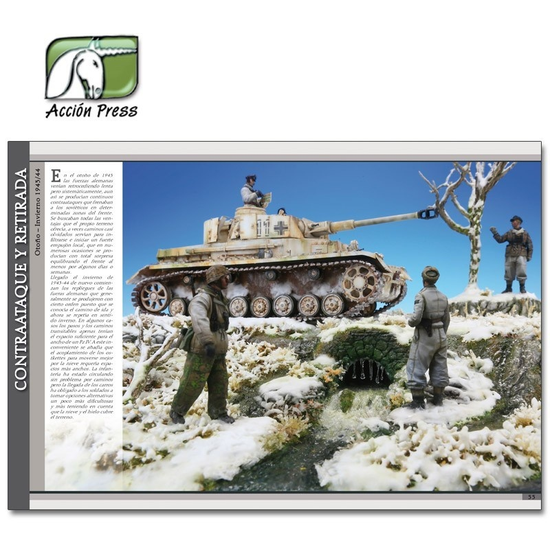 Ammo by Mig Jimenez Landscapes Of War: The Greatest Guide Vol. 1 - Dioramas  English - EURO-0004