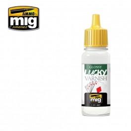 Ammo by Mig Jimenez Glossy Lucky Varnish- 17ml - A.MIG-2057