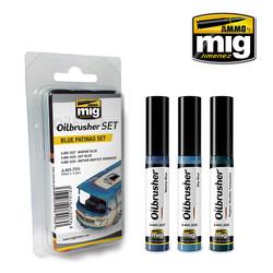 Oilbrushers Blue Patinas Set - A.MIG-7510