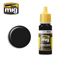 Satin Black - 17ml - A.MIG-0032