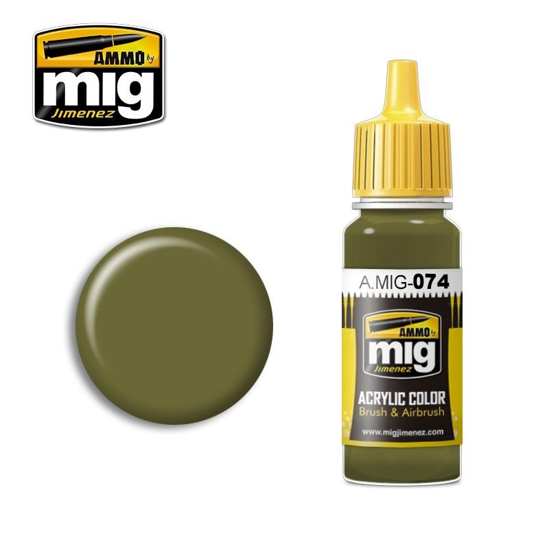 Ammo by Mig Jimenez Green Moss - 17ml - A.MIG-0074