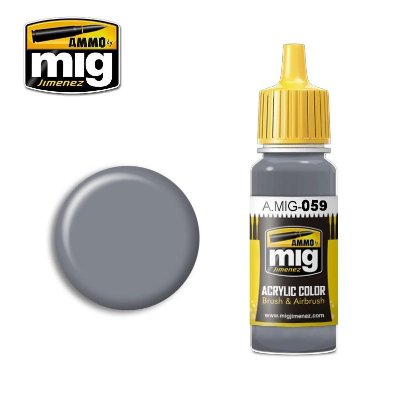Ammo by Mig Jimenez Grey - 17ml - A.MIG-0059