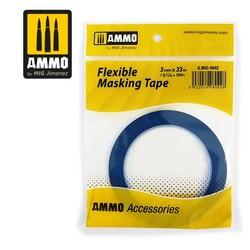Flexible Masking Tape (3mm X 33m) - Ammo by Mig Jimenez - A.MIG-8042