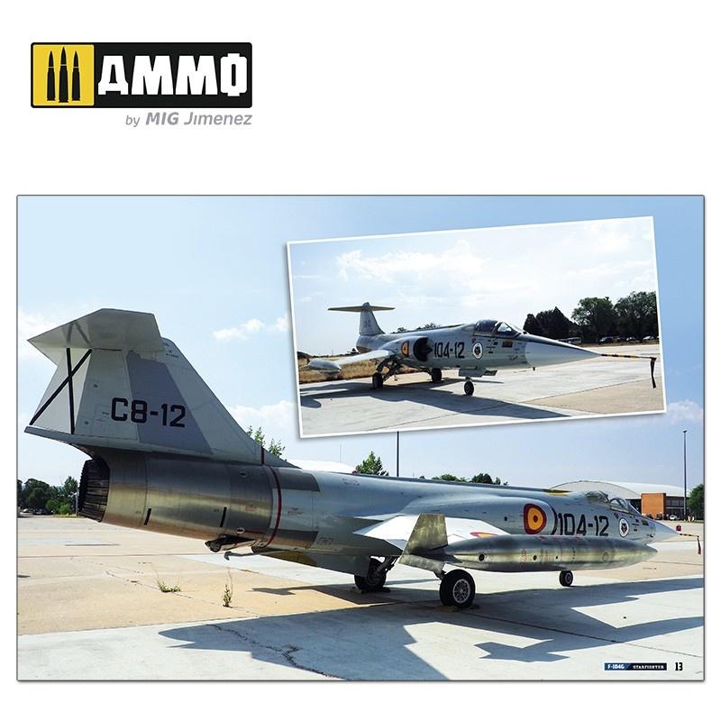 Ammo by Mig Jimenez F-104G Starfighter - Visual Modelers Guide English, Spanish, Italian - A.MIG-6004