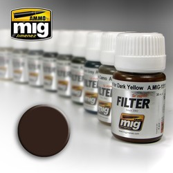 Filter - Brown For Dark Yellow - 35ml - A.MIG-1511