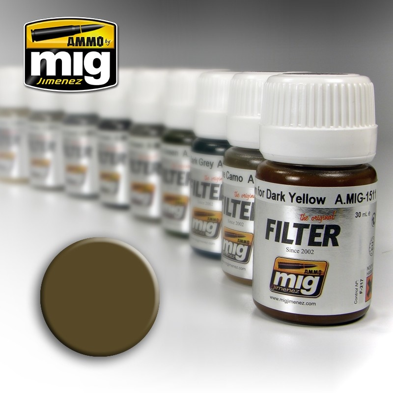Ammo by Mig Jimenez Filter - Tan For 3 Tone Camo - 35ml - A.MIG-1510