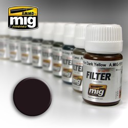 Filter - Brown For Dark Green  - 35ml - A.MIG-1506