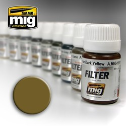 Filter - Ochre For Light Sand - 35ml - A.MIG-1503