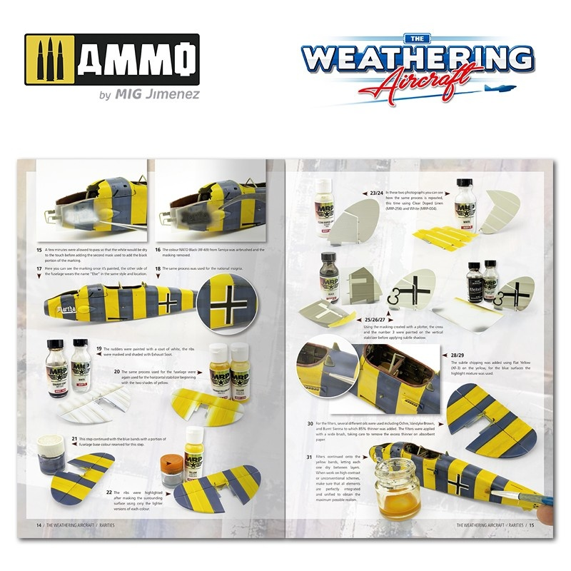 Ammo by Mig Jimenez The Weathering Aircraft - Issue 16. Rarities - English - Ammo by Mig Jimenez - A.MIG-5216