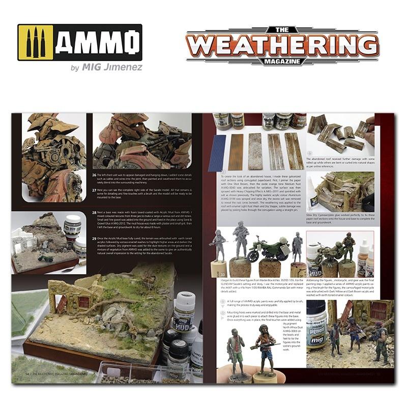 Ammo by Mig Jimenez Issue 30. Abandoned English - Ammo by Mig Jimenez - A.MIG-4529