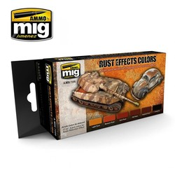Rust Effects Colors - A.MIG-7106