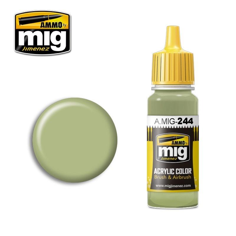 Ammo by Mig Jimenez Duck Egg Green (BS 216) - 17ml - A.MIG-0244