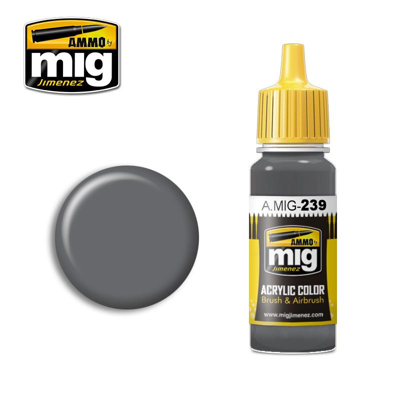 Ammo by Mig Jimenez FS 36122 Neutral Gray - 17ml - A.MIG-0239