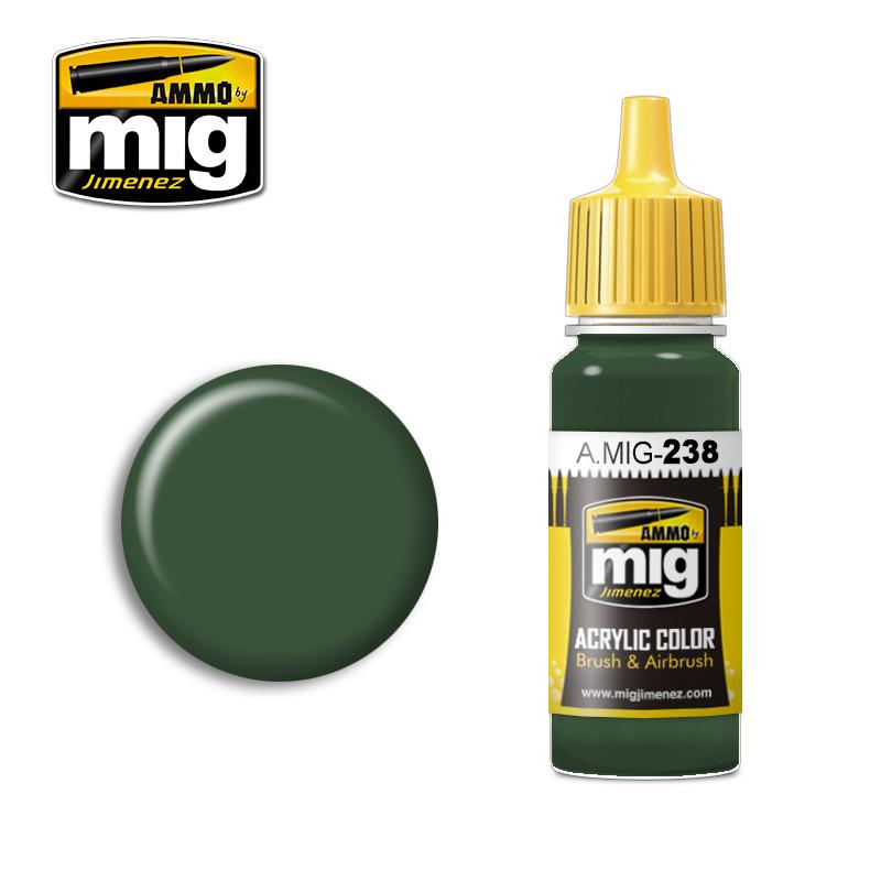 Ammo by Mig Jimenez FS 34092 Medium Green - 17ml - A.MIG-0238