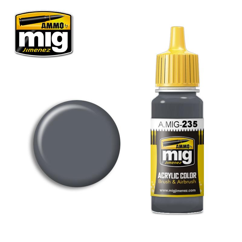 Ammo by Mig Jimenez FS36152 Dark Grey AMT-12 - 17ml - A.MIG-0235