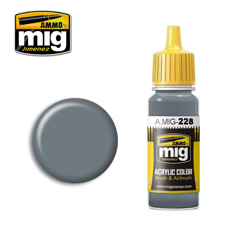 Ammo by Mig Jimenez FS 35164 Intermediate Blue (ANA 608) - 17ml - A.MIG-0228
