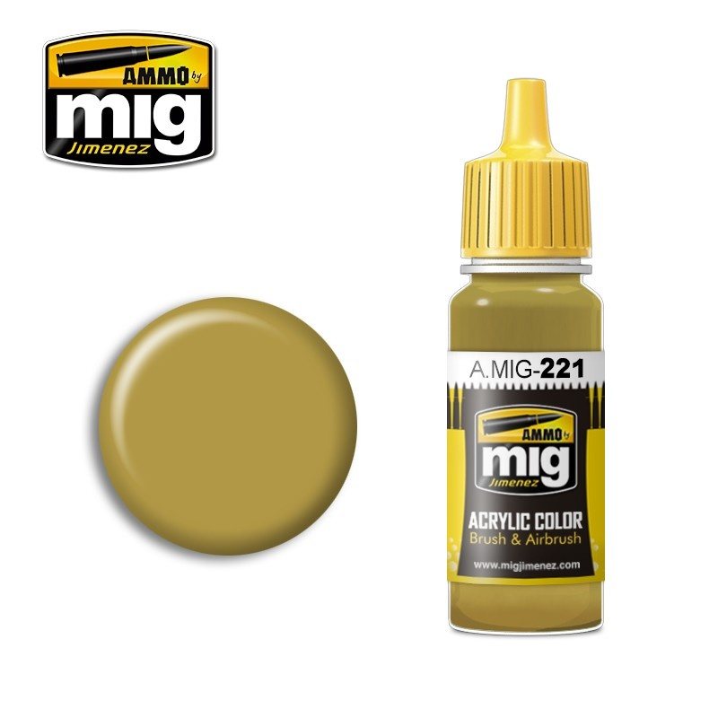 Ammo by Mig Jimenez FS 33481 Zinc Chromate Yellow - 17ml - A.MIG-0221