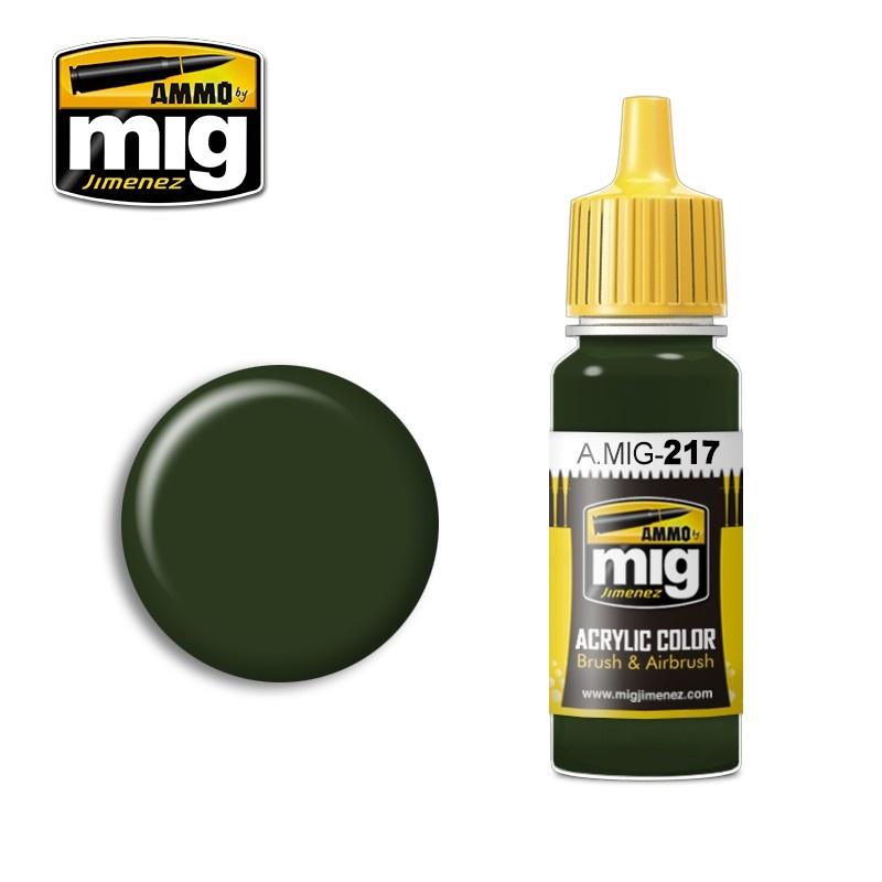 Ammo by Mig Jimenez Green Slate (RLM 02) - 17ml - A.MIG-0217