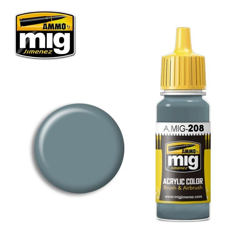 Ammo by Mig Jimenez FS 36320 Dark Compass Ghost Gray - 17ml - A.MIG-0208