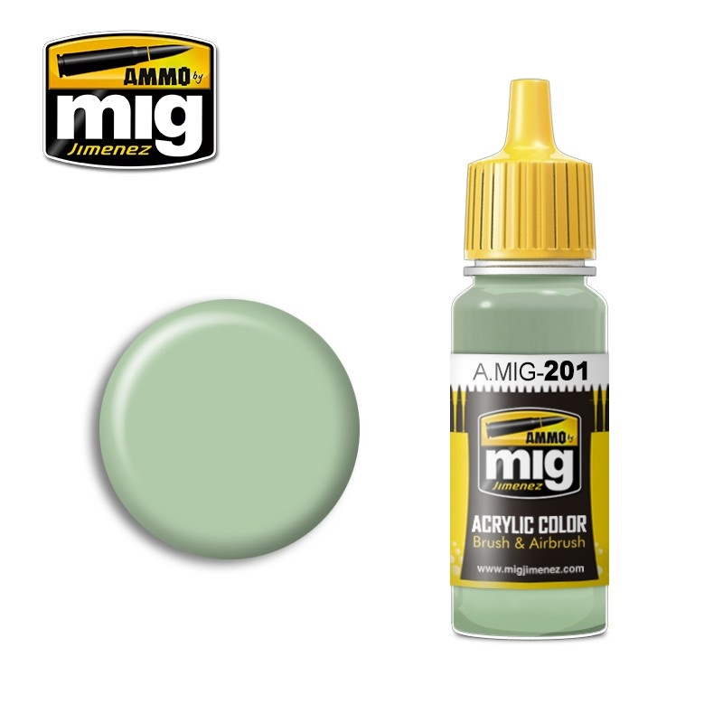 Ammo by Mig Jimenez FS 34424 Light Gray Green - 17ml - A.MIG-0201