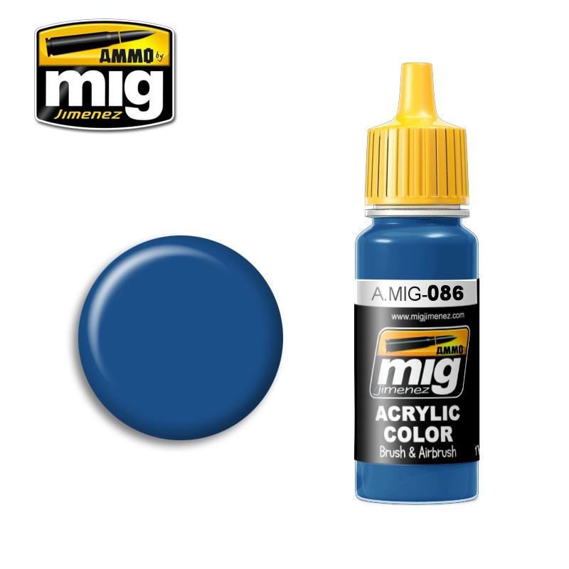 Ammo by Mig Jimenez Blue (Ral 5019) - 17ml - A.MIG-0086