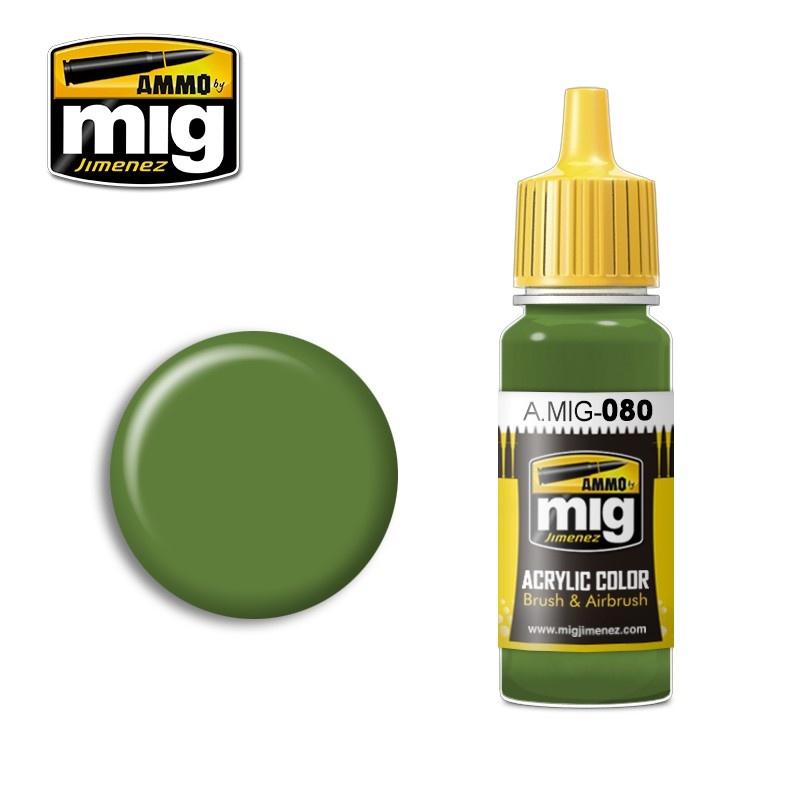 Ammo by Mig Jimenez Bright Green AMT-4 - 17ml - A.MIG-0080